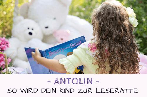 Antolin – So wird dein Kind zur Leseratte
