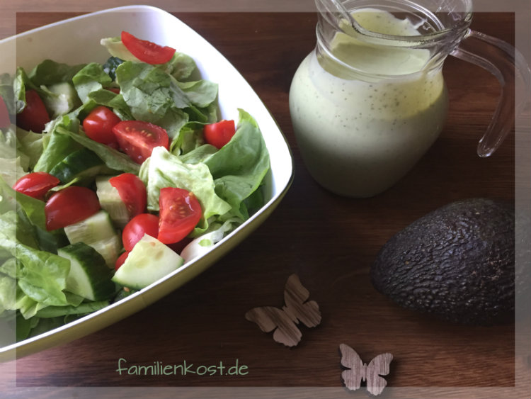 Avocado-Dressing Familienkochbuch Thermomix