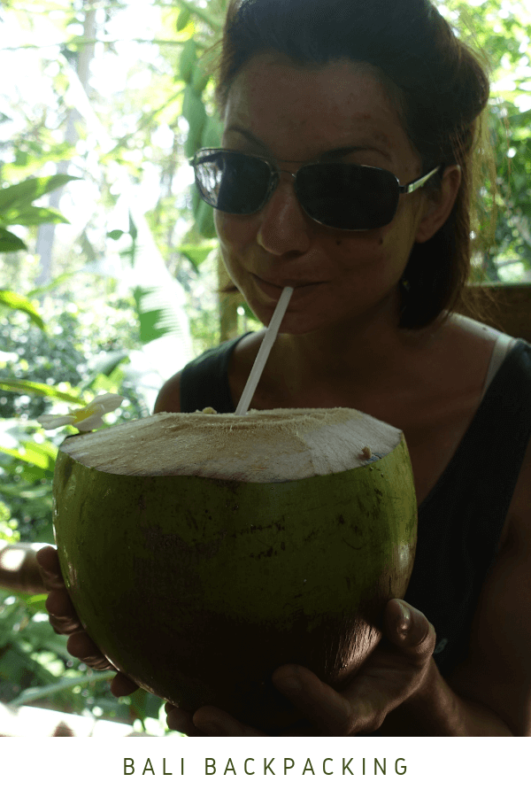 Bali Food Backpacking Indonesien Coconut