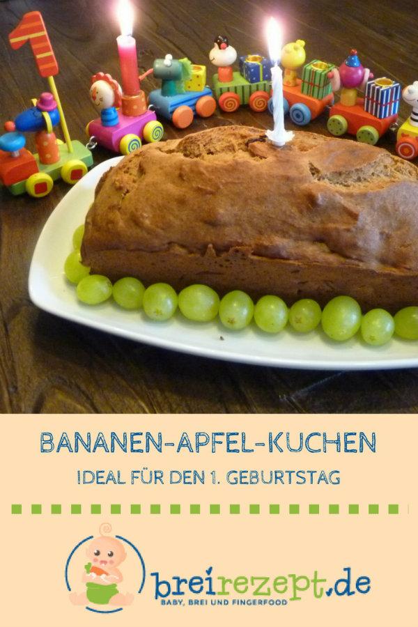 Kuchen Zum Ersten Geburtstag Bananen Rezept Ohne Zucker