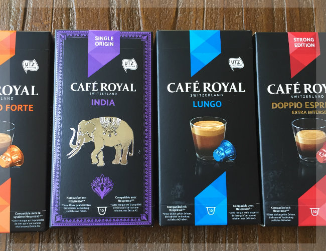 Cafe Royal Bestellung