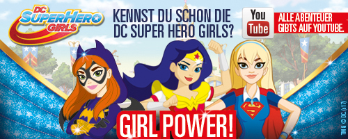 DC Super Hero Girls Banner
