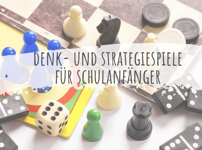 Strategiespiele für Schulanfänger und Vorschulkinder