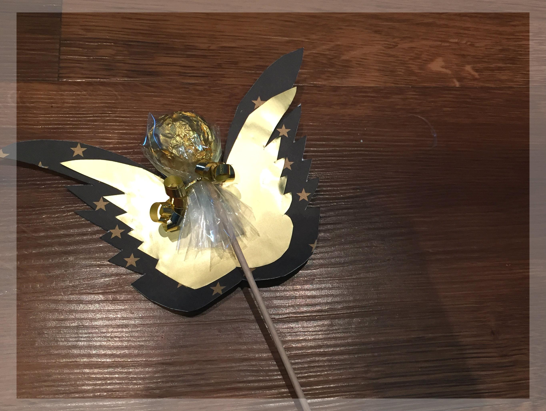 Rocher Engel Am Stiel Basteln Als Kleines Wichtelgeschenk