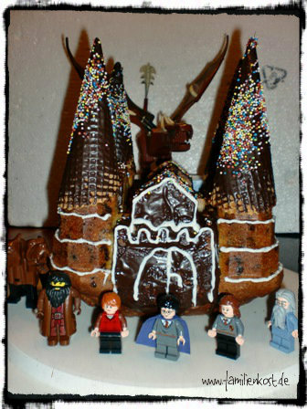 Harry-Potter-Schokokuchen-Burg