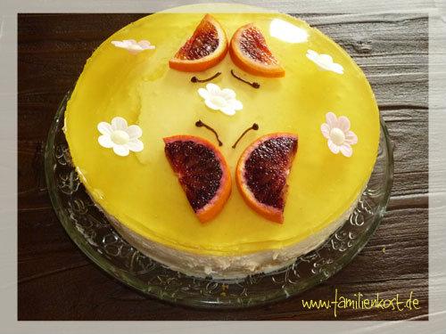 Leichte Zitronen-Joghurt-Torte