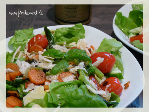 Gebratener Salat