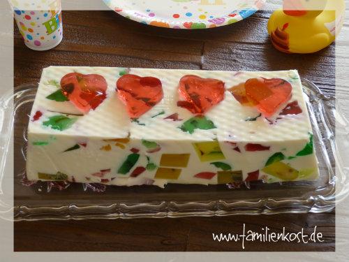Götterspeise-Kuchen