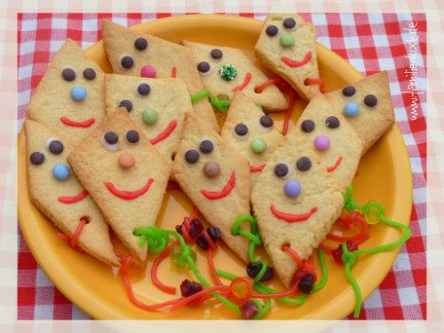 Drachenkekse rezept zum kekse backen im herbst for Basteln im kindergarten herbst