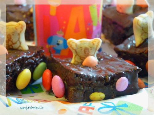 Kleine Autokuchen zum Kindergeburtstag