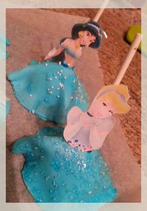 Prinzessin Cake Pops