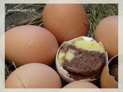 Kuchen In Der Eierschale Backen Rezept Und Anleitung