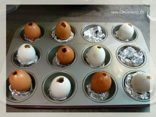 Kuchen im Ei - Überraschungseier selbst gemacht