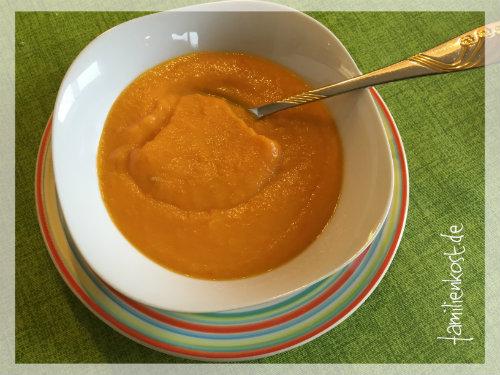 Karottensuppe als Hausmittel bei Durchfall