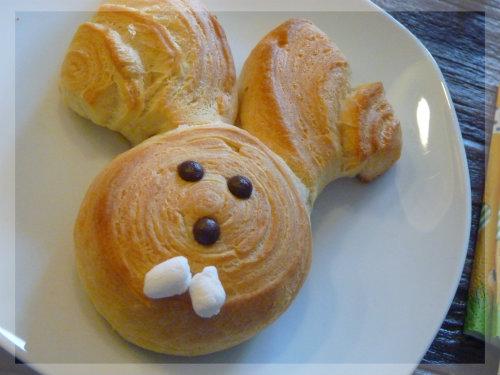 Osterhasen zum Frühstück