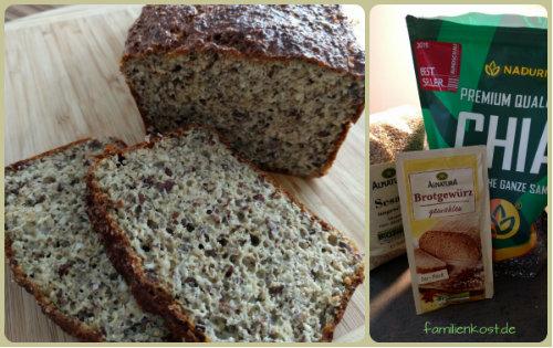 Chia Eiweiss-Brot