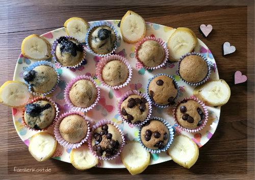 Bananenmuffins Ohne Zucker Auch Fur Baby Und Kleinkind