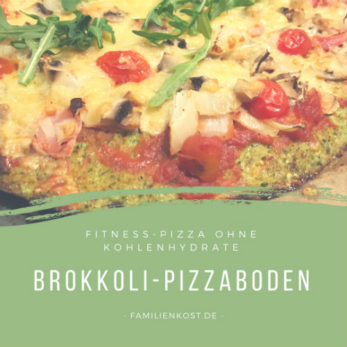 Low Carb Brokkoli Pizza