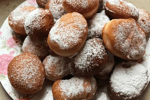 Berliner Pfannkuchen nach DDR Rezept