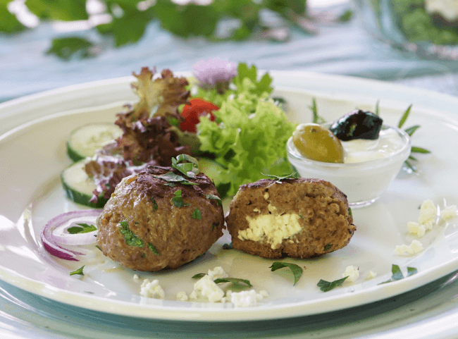 Griechische Bifteki