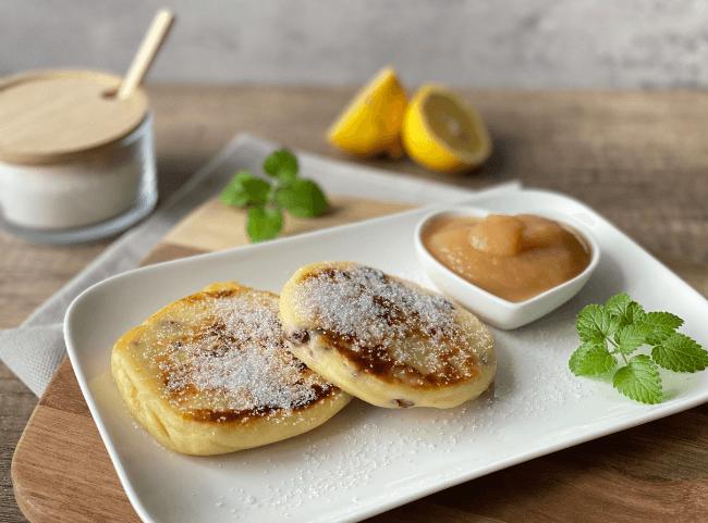 Sächsische Quarkkeulchen mit Kartoffeln - Original DDR-Rezept