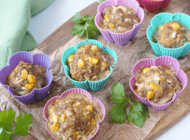 Hackfleisch-Muffins mit Mozzarella