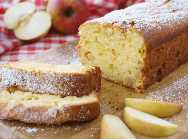Saftiger Apfel-Rührkuchen mit Quark