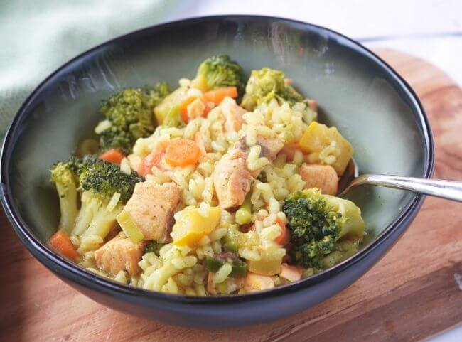 One Pot Lachs-Curry