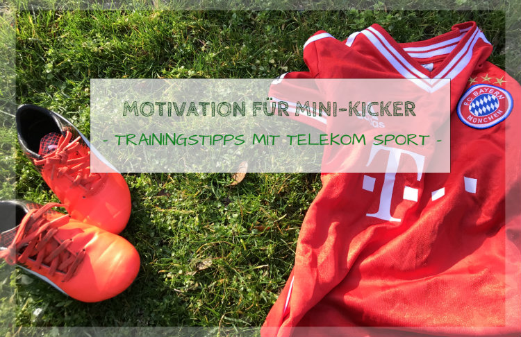 Fussball Kindertrainings-Tipps und das Telekom Sportpaket