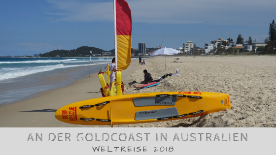 An der Gold Coast in Surfers Paradise
