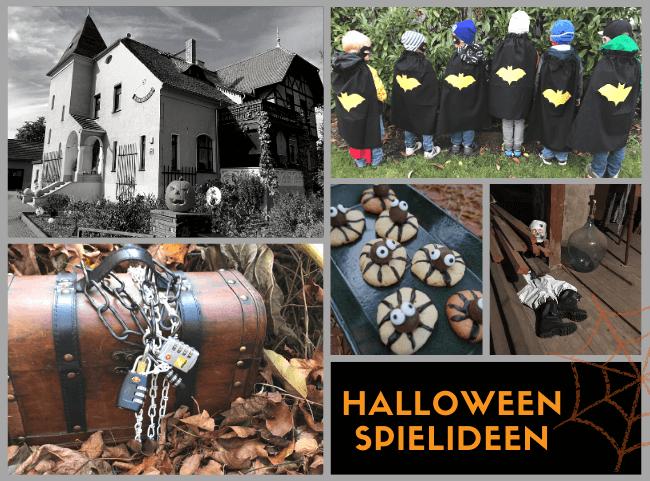 Halloween Spiele für Kinder - die besten Ideen