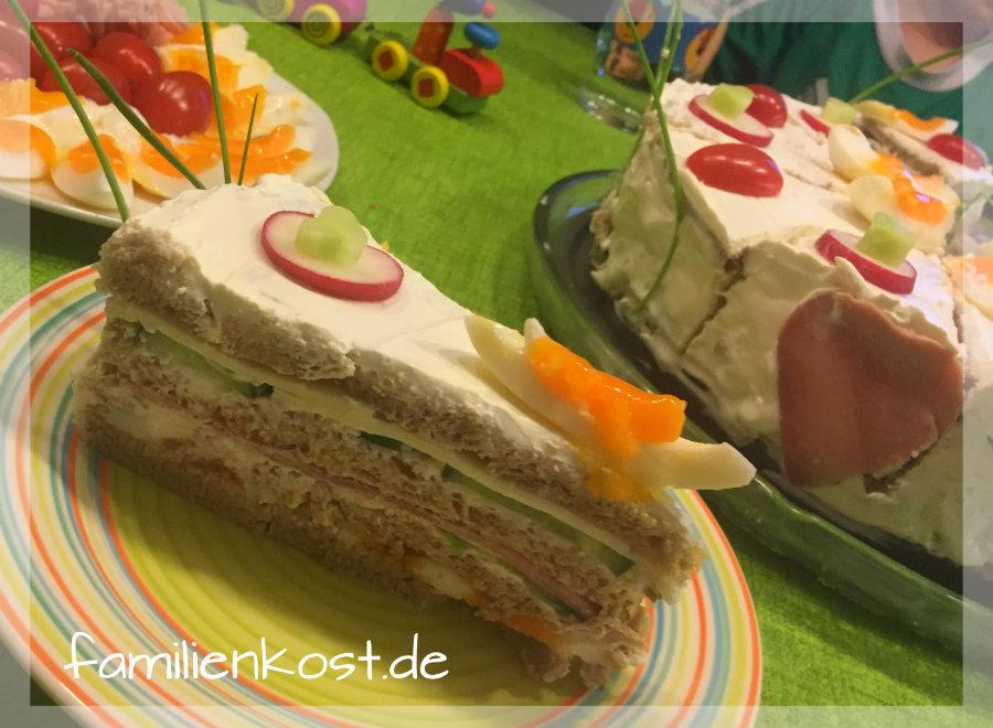 Brottorte Mit Frischkase Rezept Fur Herzhafte Torte