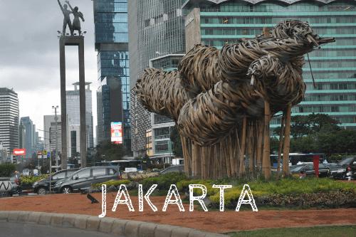 Auf Weltreise in Jakarta (Indonesien)