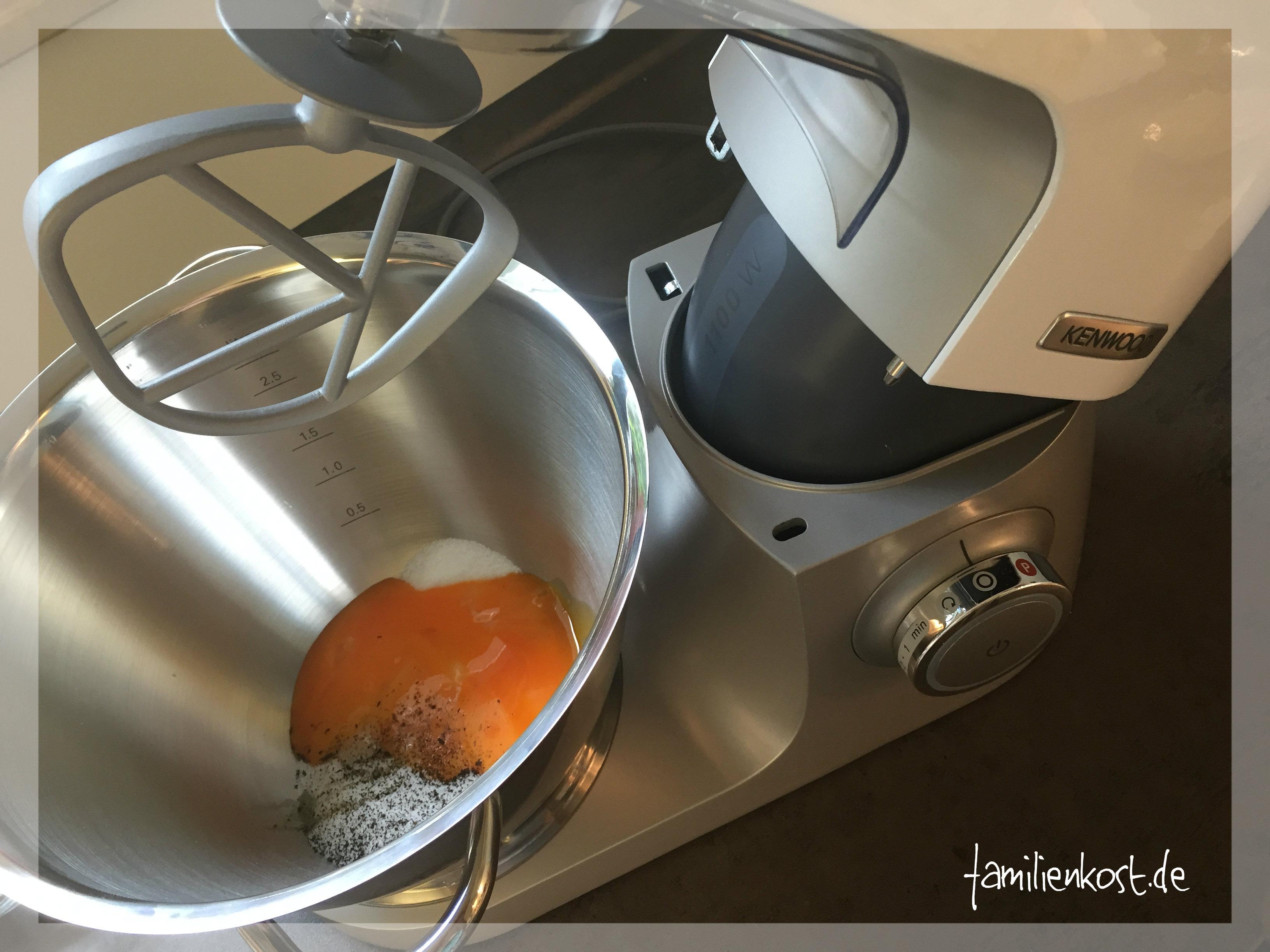 kenwood küchenmaschine brot backen