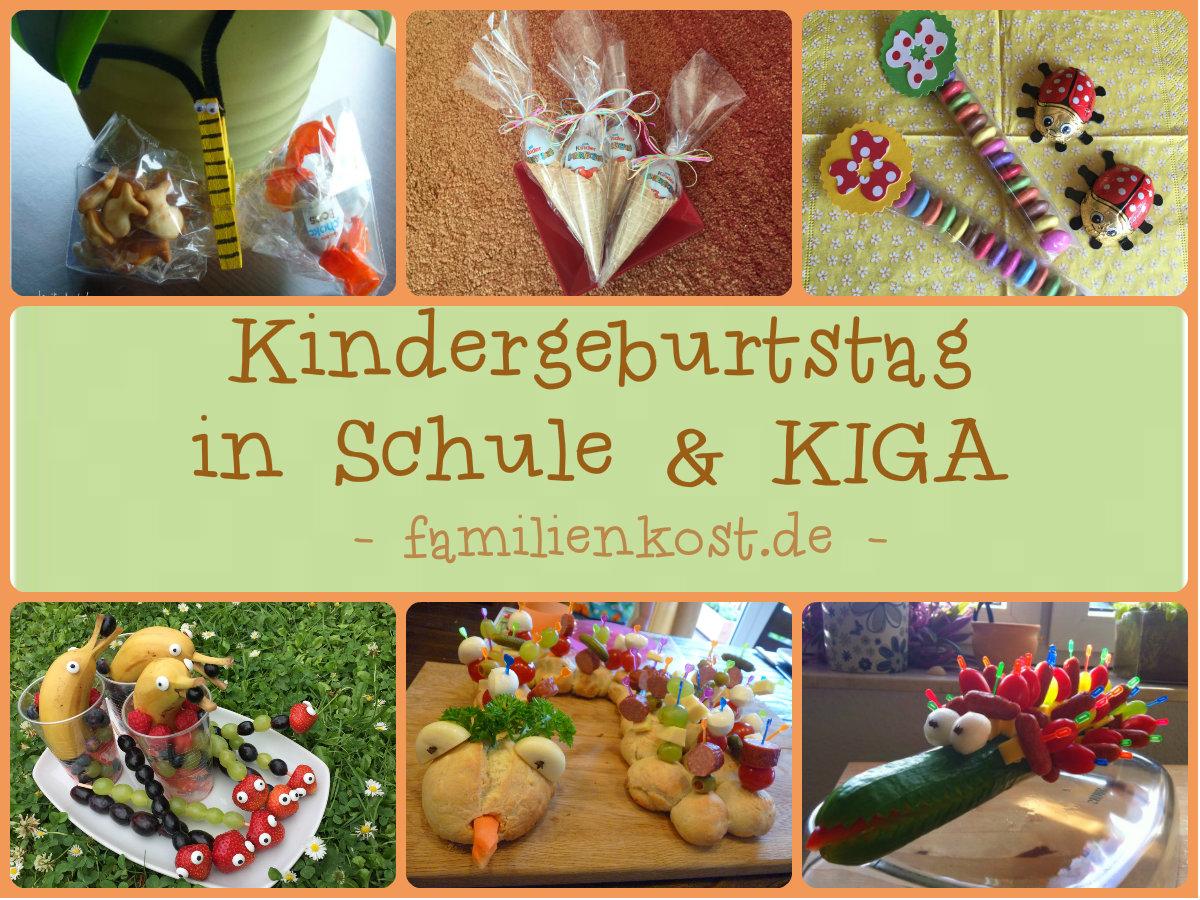 Mitgebsel Rezepte Fur Kindergeburtstag Im Kindergarten
