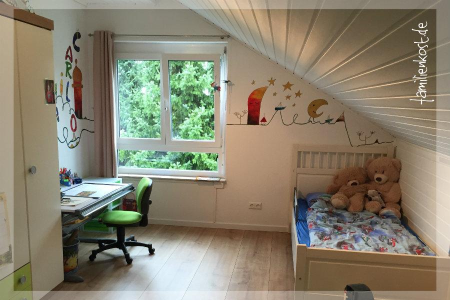 Entzuckend Kinderzimmer Wandgestaltung Junge