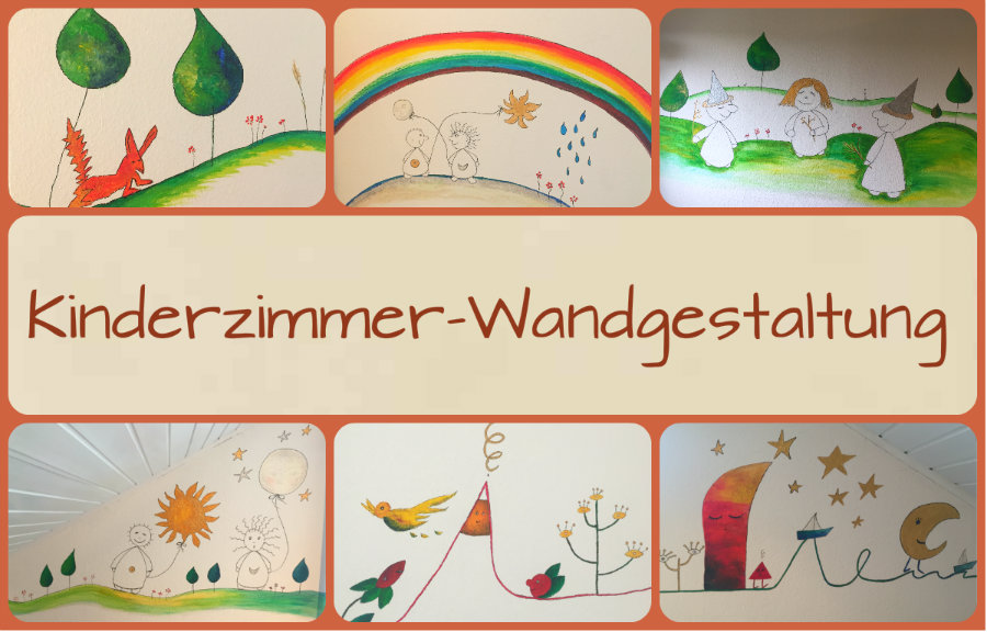 kinderzimmer wandgestaltung wandbemalung f r kinder. Black Bedroom Furniture Sets. Home Design Ideas