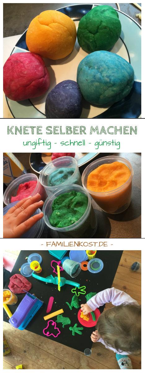 Knete Selber Machen Rezept Und Anleitung Mit Salz