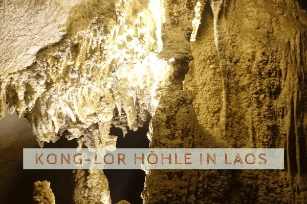 Konglor Höhle - Naturwunder in Laos