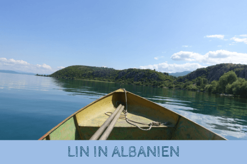 Lin in Albanien am Ohridsee