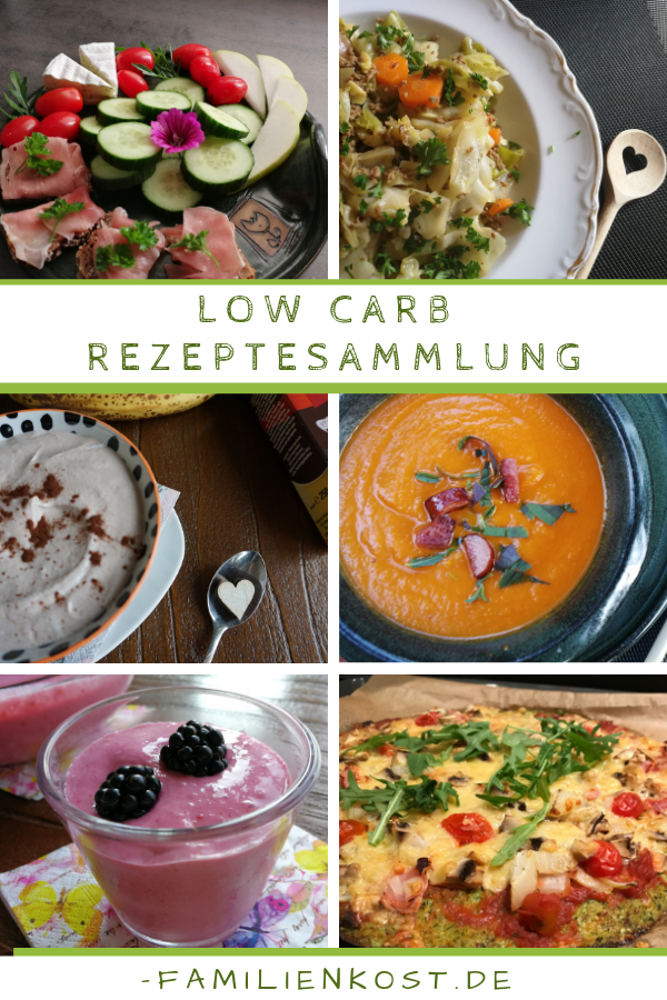 Low Carb Rezepte ohne Kohlenhydrate