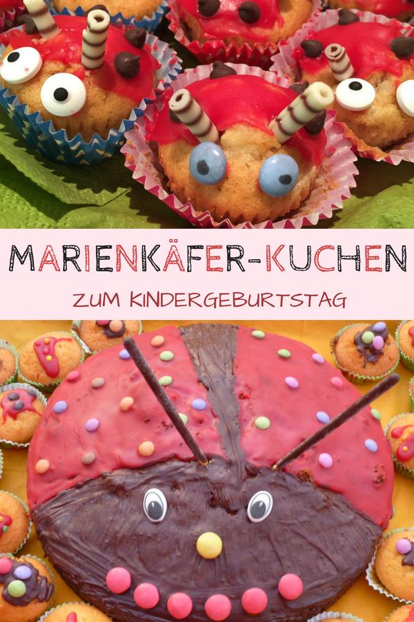 Marienkaferkuchen Rezept Fur Den Kindergeburtstag
