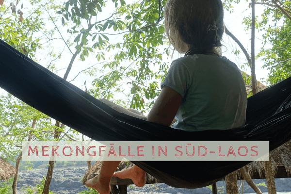 Mekong Wasserfälle und 4000 Inseln in Süd-Laos