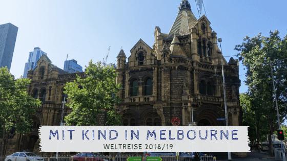 Melbourne mit Kind entdecken