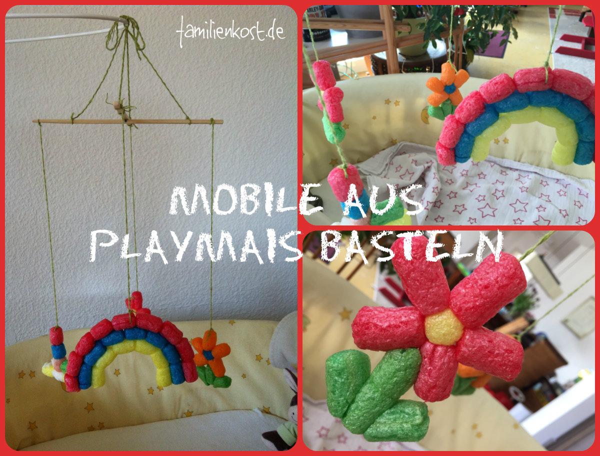 Attraktiv Geschenke Basteln Mit Kindern Bastelideen Referenz Von Mobile Aus Playmais Für Baby