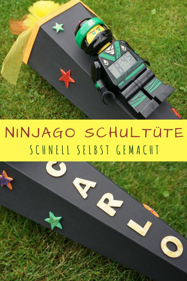 anleitung zum basteln einer lego ninjago schult te. Black Bedroom Furniture Sets. Home Design Ideas