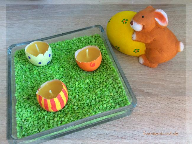 Osterkerzen selber machen