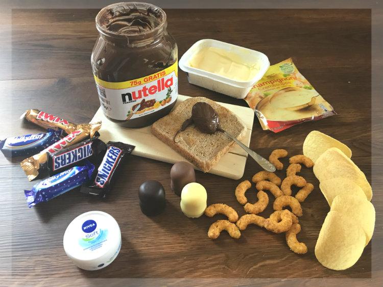 Palmöl in Lebensmitteln wie Nutella