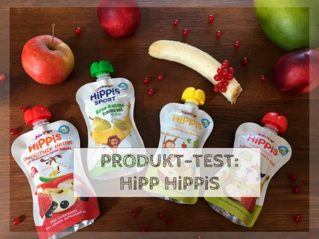Produkttest Quetschbeutel HiPP HiPPiS