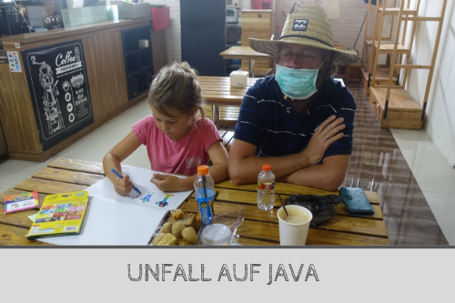 Rollerunfall auf Java - Backpacker Bericht